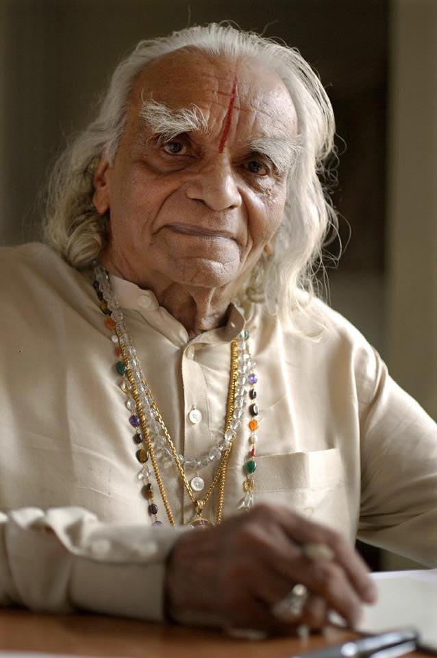 portrait of B.K.S Iyengar