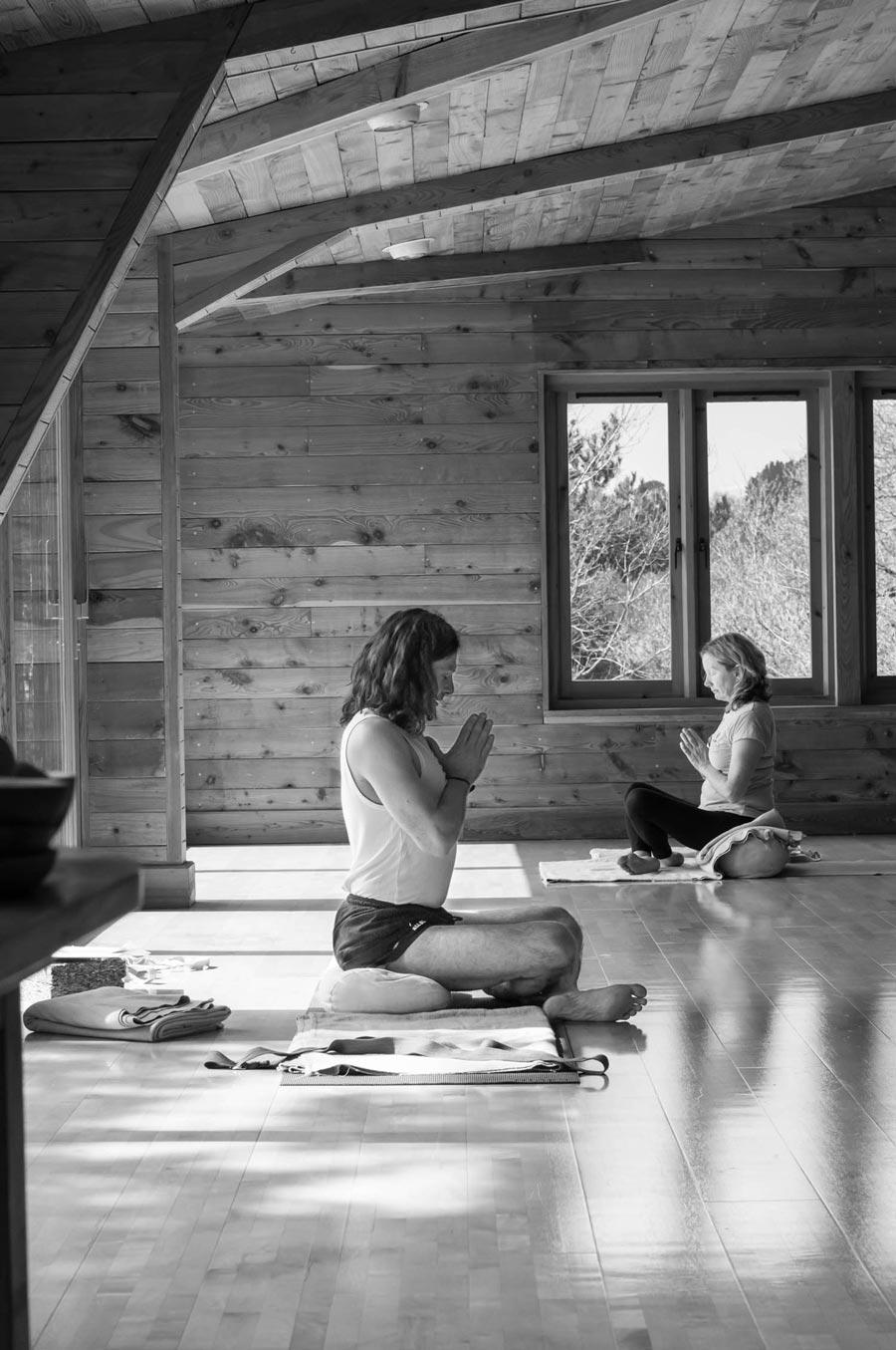 Gav Tilstone meditating